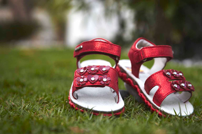 Children's shoes and her need to buy Fashion and Beauty